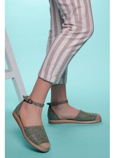 Muggo Espadril Ayakkabı Haki